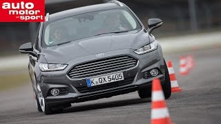 Fahrbericht Ford Mondeo Turnier 2.0 TDCi