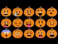 Pumpkin Feelings - Halloween Jack-O'-Lanterns - Emojis - The Kids' Picture Show (Fun & Educational)