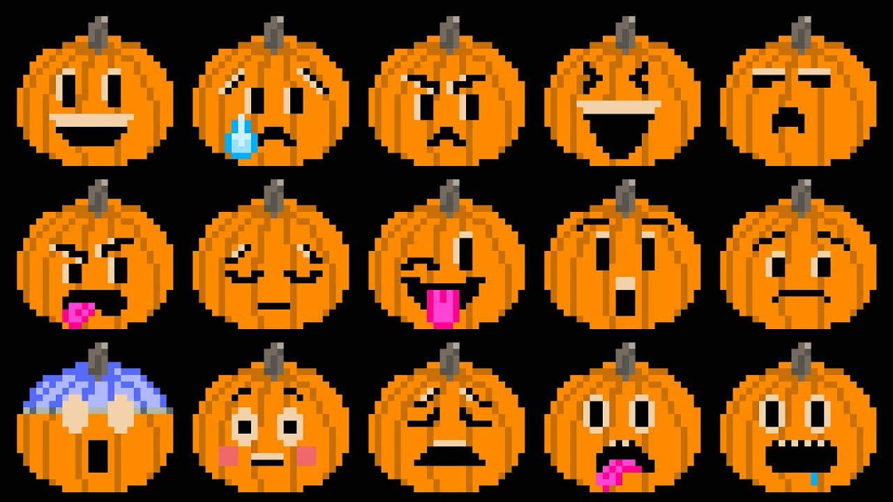 Pumpkin Feelings Halloween Jack O Lanterns Emojis The Kids Picture Show Fun Educational