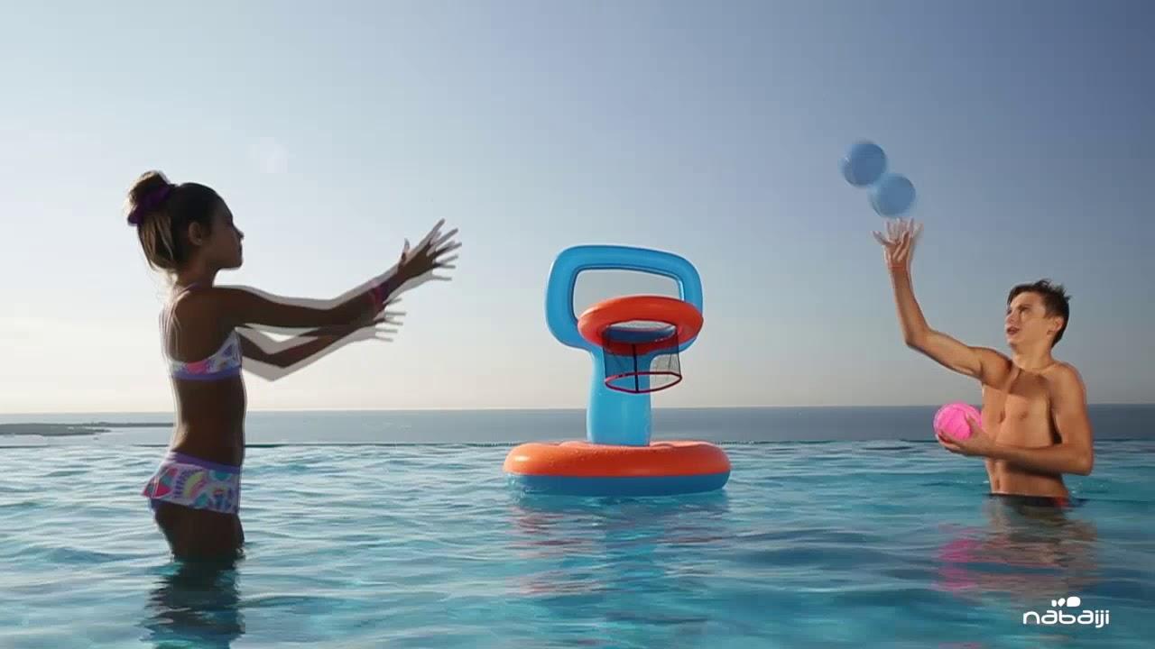 d0e0915fa8 Cesta de basquete inflável para piscina Nabaiji - Exclusividade Decathlon