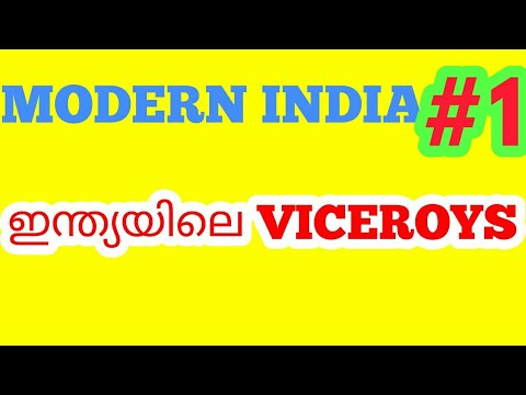 KERALA PSC MODERN INDIA #1 ||VICEROYS OF INDIA||Lord canning ||MODERN INDIA FOR DEGREE LEVEL EXAM