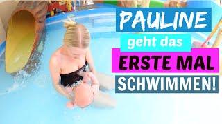 Familien Vlog | Wir gehen ins Schwimmbad | Baby 12 Wochen alt | Isabeau