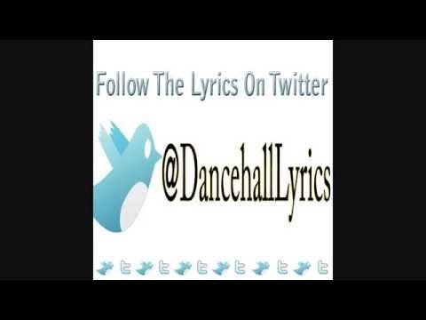 Aidonia sit down Pon Di cocky Lyrics @DancehallLyrics