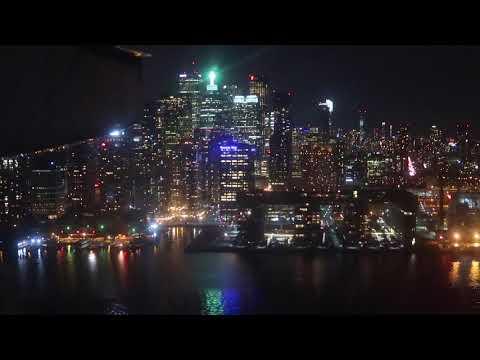 Aterrizaje nocturno Toronto - Bishop - Dash 8 Air Canada