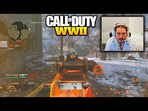 POST MALONE PLAYS CALL OF DUTY WW2! TWITCH FUNNY MOMENTS POST MALONE PLAYING CALL OF DUTY WW2!