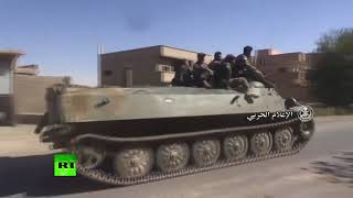 Closer to Deir ez-Zor: Syrian army continue fighting ISIS in the East of the country