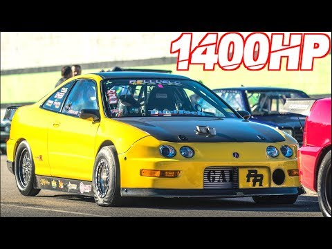 1400HP Acura Integra Type-R | Worlds First 7 Second Integra! (65PSI + 11000RPM)