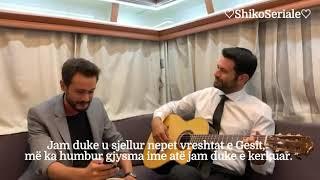 Kerem Cem & Burak Serdar Şanal - Gesi Bagları me titra shqip