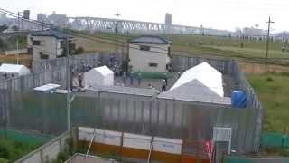 2014 07 03 北小岩の強制執行始まるスーパー堤防MP4