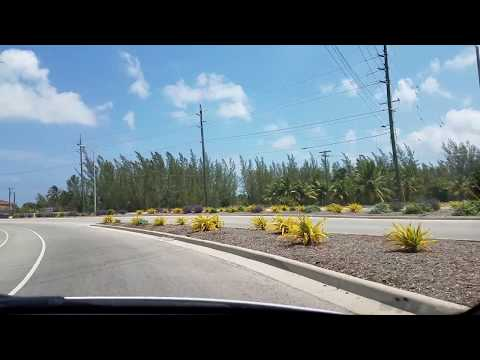 Driving tour of West Bay district, Grand Cayman.