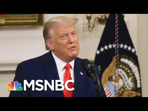 GOP Is 'Hopeful' Trump Will Stay On Message While Campaigning For Georgia Senators   All In   MSNBC