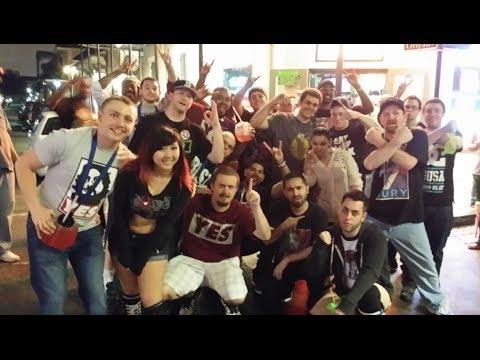 Wrestlemania XXX WEEK: Wrestlemania 30 After Party On Bourbon Street - Day 6 Part 3