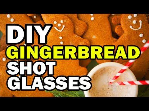🤶 DIY Gingerbread Shot Glass Challenge