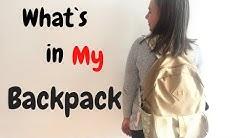 What`s in My Backpack/Erika Doumbova/Какво има в моята чанта/Ерика Думбова