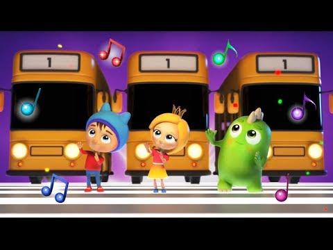 Детские песни про машинки - Сина и Ло - Желтый автобус