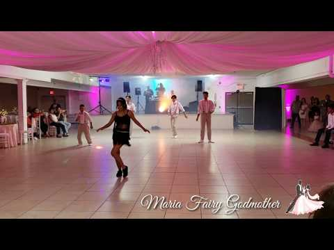 JESSICAS SURPRISE DANCE   EL BAILE DEL BEEPER