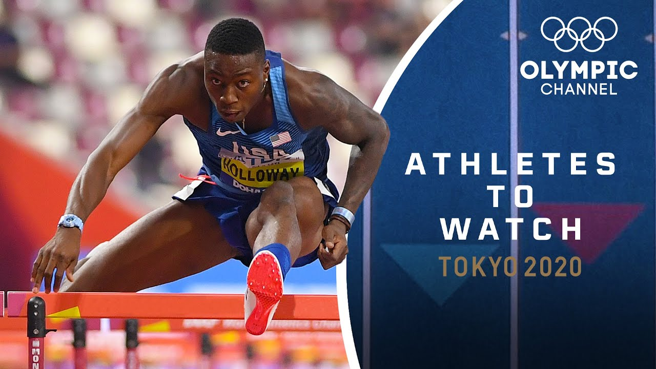 Athletes to Watch - Tokyo 2020 | Grant Holloway