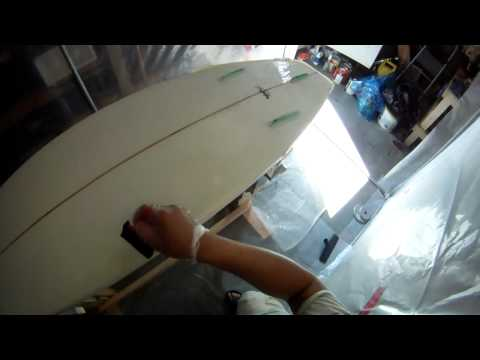 Hotcoat 6 Foot 6 inch Shortboard Surfboard Bottom