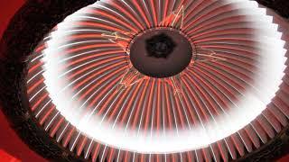 световое шоу в Музее Великой Отечественной Войны на Поклонной горе в Москве