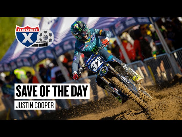 Motocross Save of the Day - Justin Cooper - Hangtown