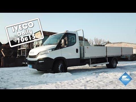 Бортовая алюминиевая платформа на базе IVECO Daily 70c15