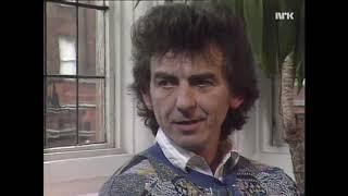 George Harrison on Cloud Nine & working with Jeff Lynne (Norwegian TV_1988)