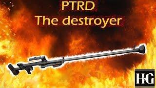 Heroes & Generals - PTRD - The Destroyer - 117 Kills