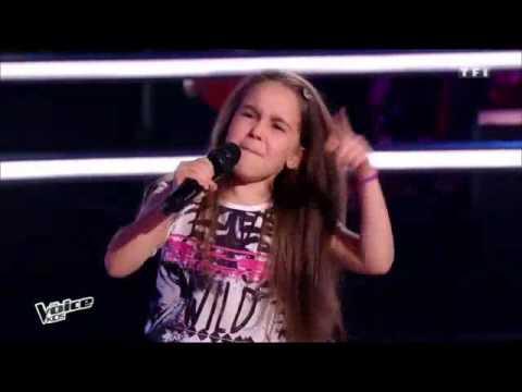 The Voice kids Battle : Manuela – Steven – Laure « Papaoutai » ( stromae )