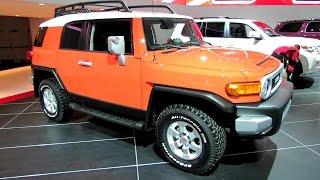 2014 Toyota FJ Cruiser - Exterior and Interior Walkaround - 2014 Detroit Auto Show