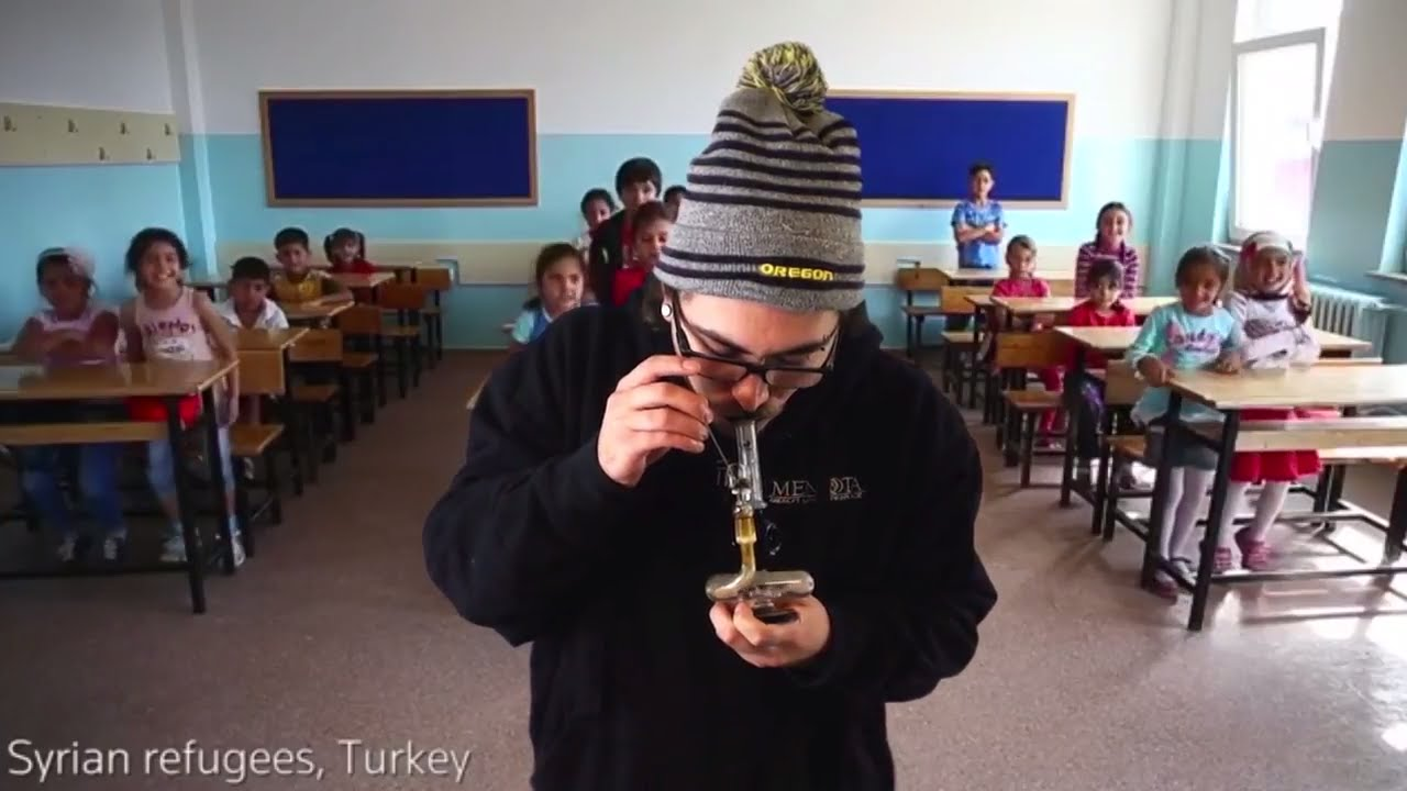 Dabbing With Kids Around The World - YouTube