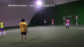Soccer League C5 - Nona Giornata - Mediterranea vs Atletic Rescue