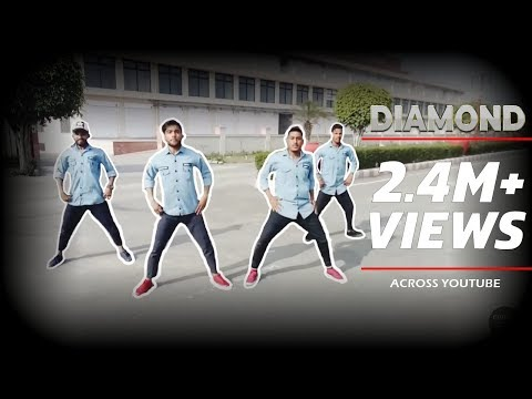 Diamond song by Gurnam Bhullar(Choreography by#Groovy Boys#)