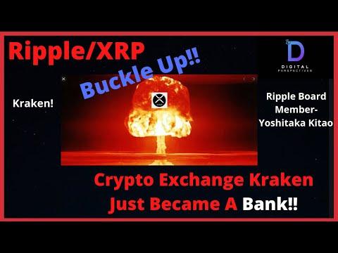 Ripple/XRP- Yoshitaka Kitao Becomes Japan`s Economic Advisor,KRAKEN Just Became A BANK!!