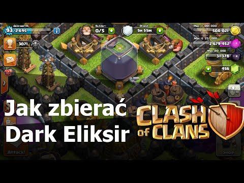 Jak zdobywać dark eliksir? - Clash of Clans Polska