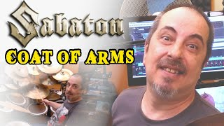 SABATON - Coat of arms (Drum cover by Stamatis Kekes )