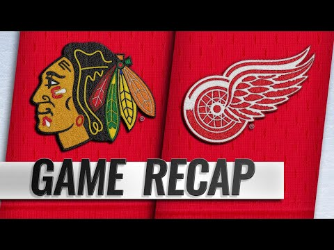 Kane's OT goal helps Blackhawks top Red Wings