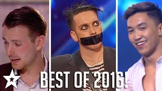The Best Got Talent Auditions 2016 | Part 2 | Including Tape Face, Richard Jones & More! | Part Two