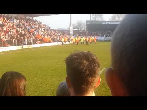 Kidderminster v Stockport: Fighting, Atmosphere, Goals