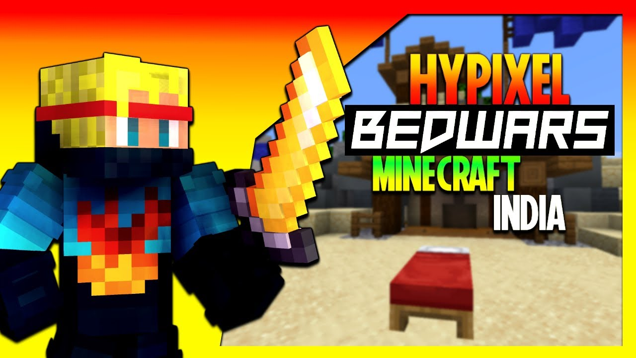Casual Solo Plays | Hypixel Bedwars - Minecraft Hindi