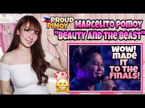 """Marcelito Pomoy sings """"Beauty and the Beast"""" with DUAL VOICES! America's Got Talent : The Champions"""