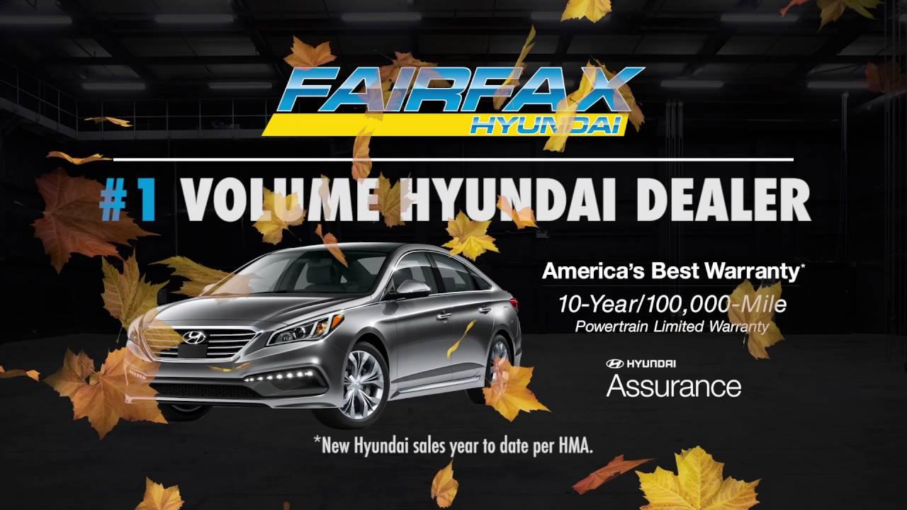 Fairfax Hyundai Special - No Payt Until Next Year (2017) - YouTube