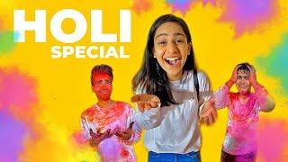 HOLI SPECIAL TWIN TELEPATHY Challenge   Rimorav Vlogs