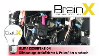 Klimaanlage Desinfizieren Reinigen & Pollenfilter Wechseln - AUDI A4 8E B6 & B7 So gehts!