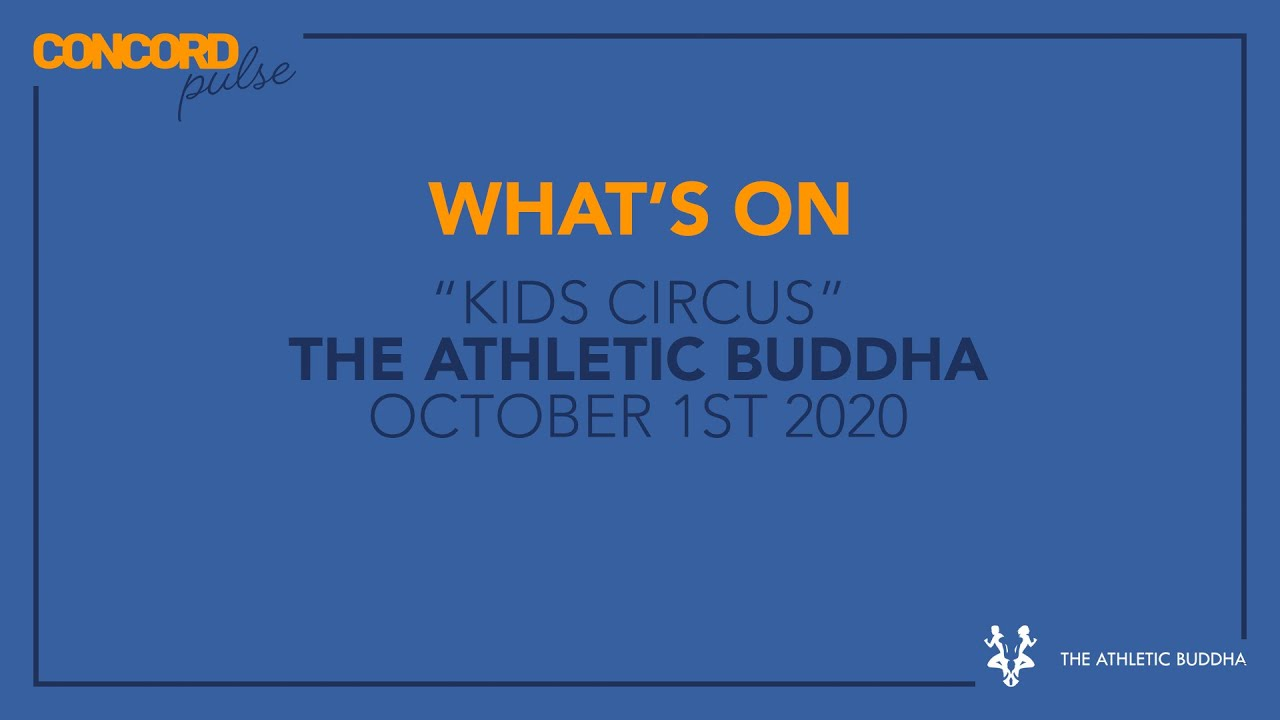 OCTOBER 1st: KIDS CIRCUS AT THE ATHLETIC BUDDHA