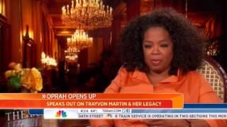 Oprah To NBC:Trayvon Martin
