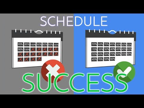 Why Your Schedule is FAILING You