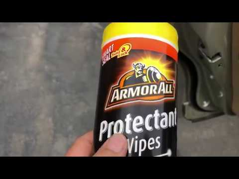 ArmorAll Wipes. I Review Them Here And Show You The Instant Effects On Car Surfaces. Armour All