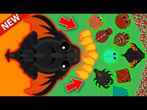 MOPE.IO / NEW KING DRAGON GAMEPLAY IN MOPE! / KING DRAGON TAKES OVER THE MOPE WORLD!