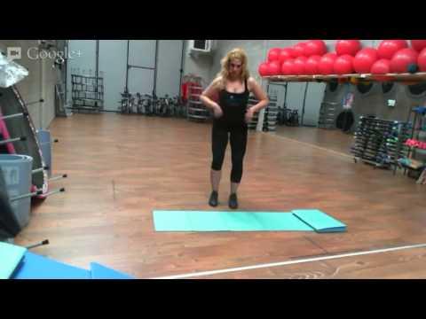 Monya fitness giwa video professionale lezione esercizi for 5 esercizi per interno coscia