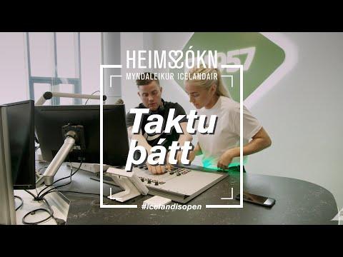 Heims-sókn | Bibba og Rikki G